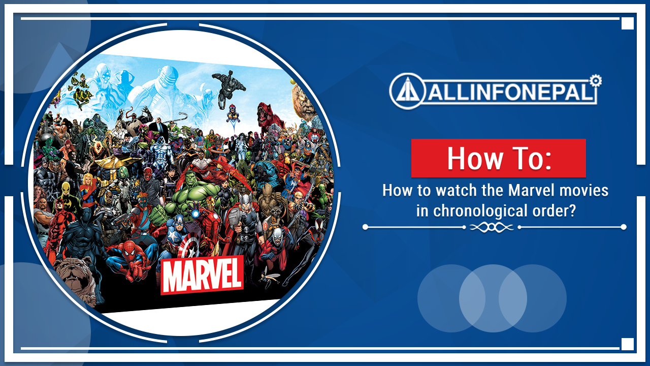 How to watch the Marvel movies in chronological order?