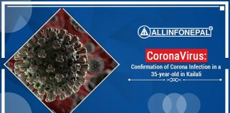 Confirmation of Corona Infection in a 35-year-old in Kailali