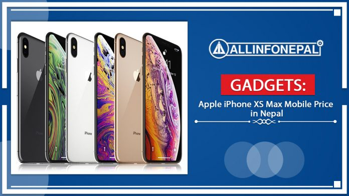 Apple iPhone XS Max Mobile Price in Nepal