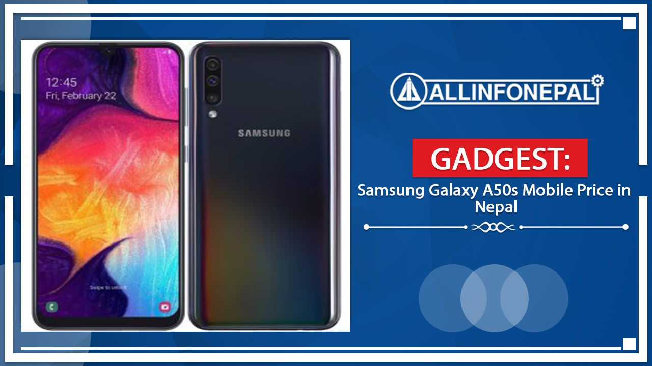 Samsung Galaxy A50s Mobile Price in Nepal
