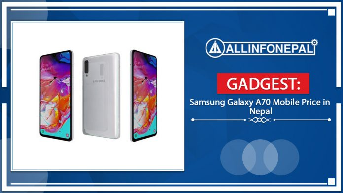 Samsung Galaxy A70 Mobile Price in Nepal