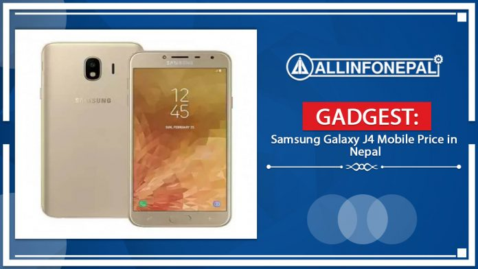 Samsung Galaxy J4 Mobile Price in Nepal