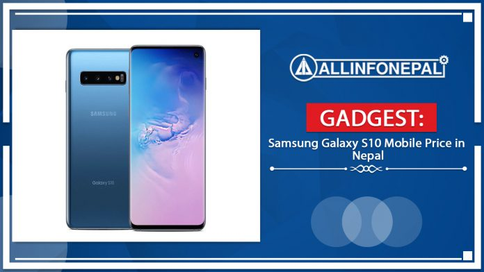 Samsung Galaxy S10 Mobile Price in Nepal