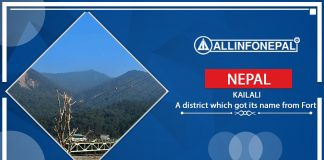 Kailali || A district which got its name from Fort