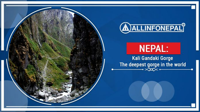 Kali Gandaki Gorge || The deepest gorge in the world