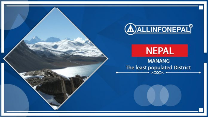 Manang || The least populated district of Nepal