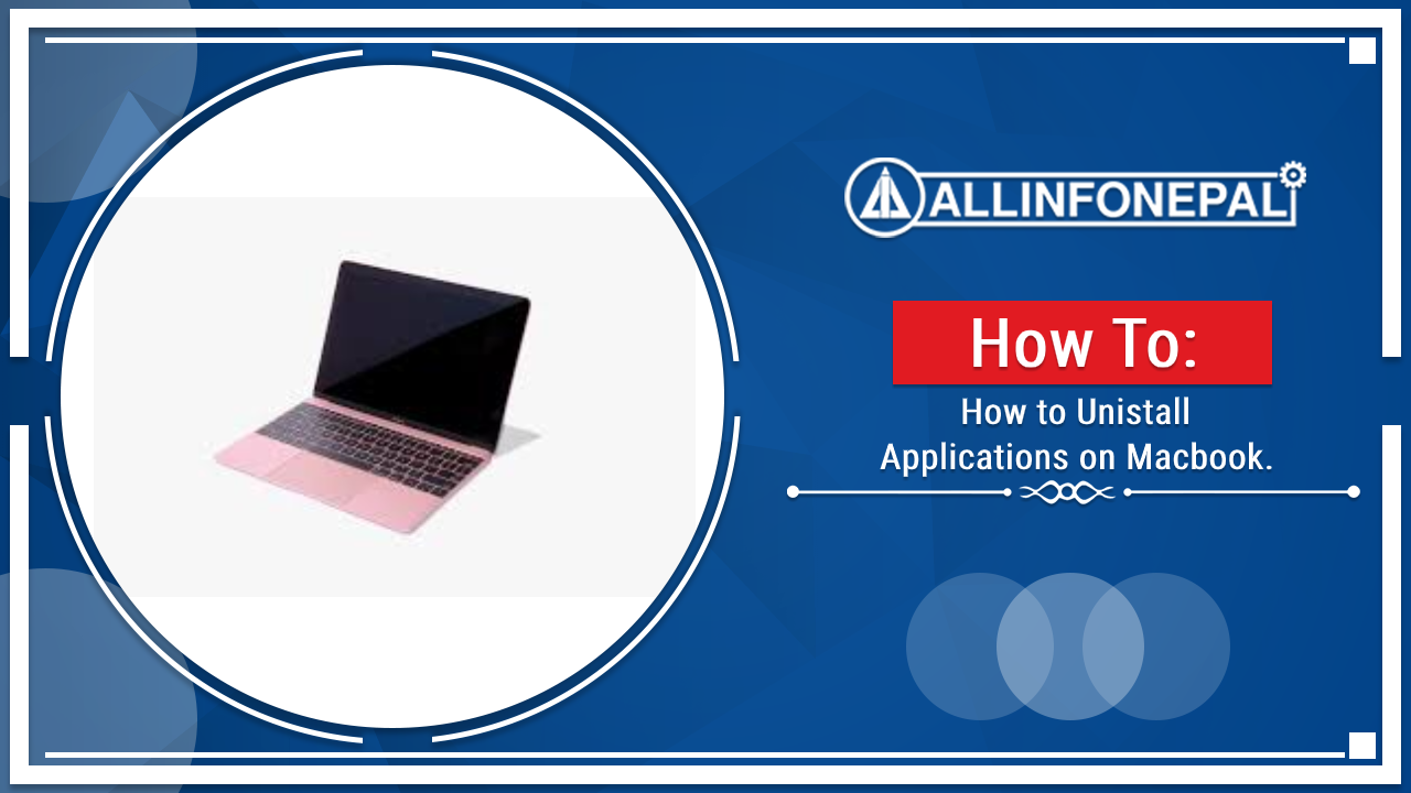 How to Uninstall Applications on mac