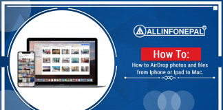 How to AirDrop photos and files from iPhone or Ipad to Mac