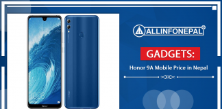 Honor 9A Mobile Price in Nepal