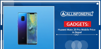 Huawei Mate 20 Pro Mobile Price in Nepal