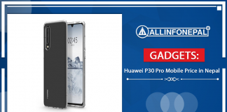 Huawei P30 Pro Mobile Price in Nepal