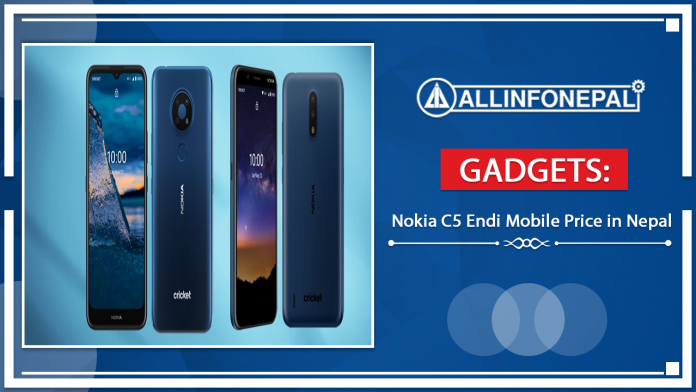 Nokia C5 Endi Mobile Price in Nepal