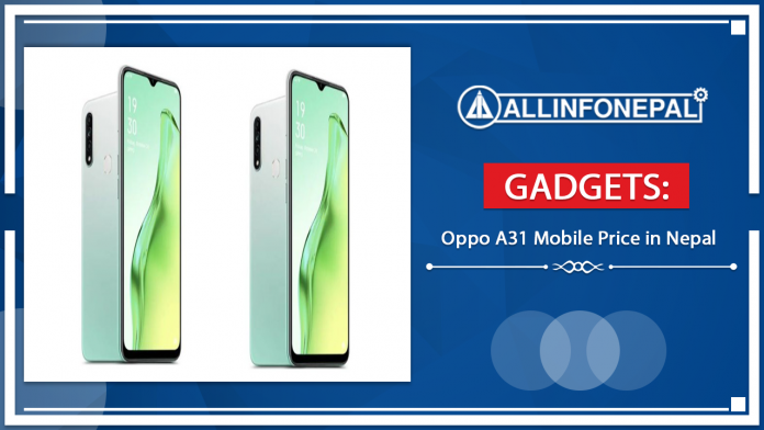 Oppo A31 Mobile Price in Nepal
