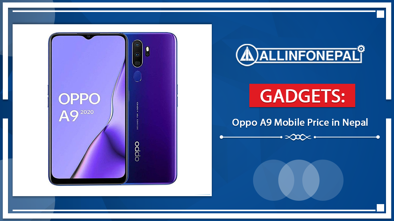 Oppo A9 Mobile Price in Nepal
