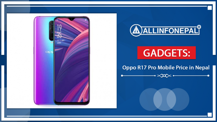 Oppo R17 Pro Mobile Price in Nepal