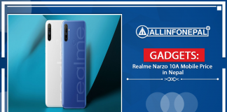 Realme Narzo 10A Mobile Price in Nepal