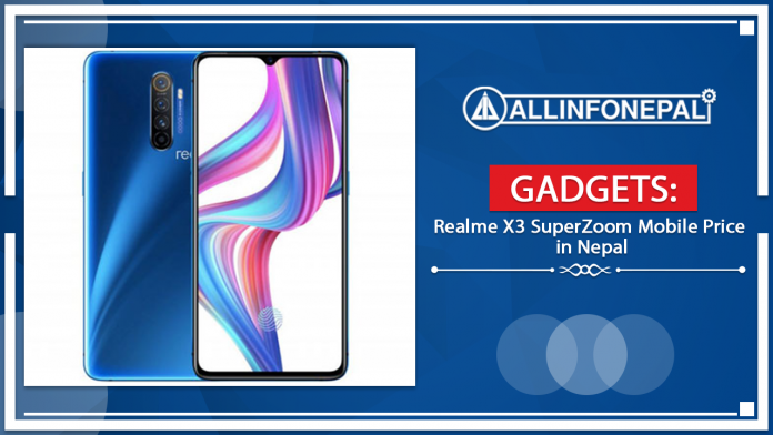 Realme X3 SuperZoom Mobile Price in Nepal