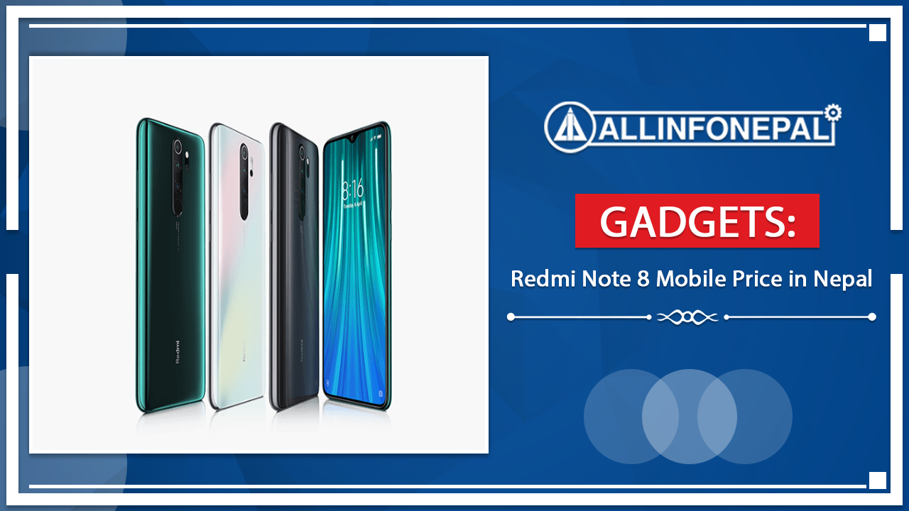 Redmi Note 8 Mobile Price in Nepal