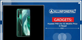 The Huawei P40 Lite 5G Mobile Price in Nepal