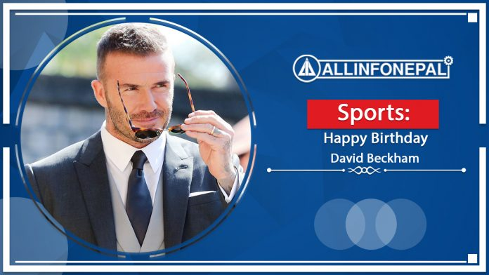 David Beckham Birthday || English Footballer || 2 May 1975