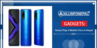 Honor Play 4 Mobile Price in Nepal