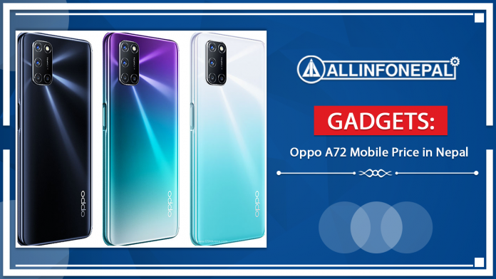 Oppo A72 Mobile Price in Nepal