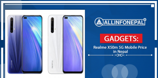 Realme X50m 5G Mobile Price in Nepal
