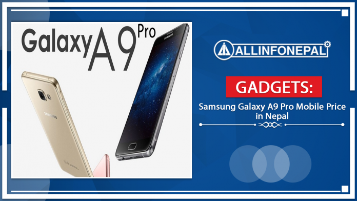 Samsung Galaxy A9 Pro Mobile Price in Nepal