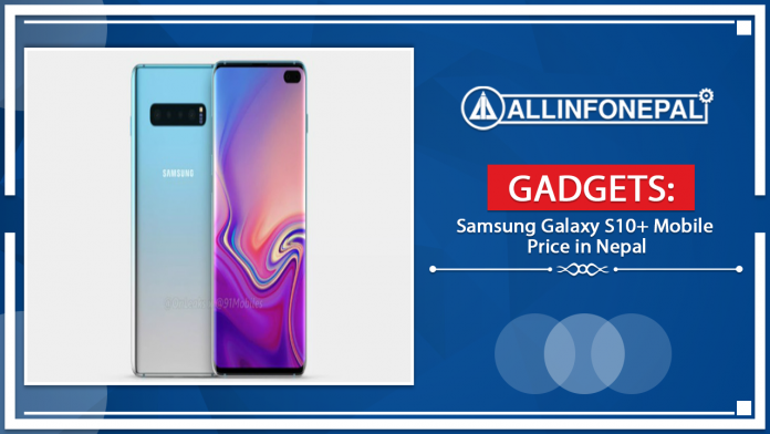 Samsung Galaxy S10 Plus Mobile Price in Nepal
