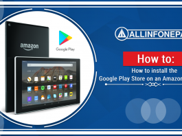 How to install the Google Play Store on an Amazon Fire Tab