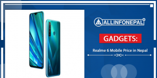 Realme 6 Mobile Price in Nepal