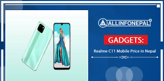 Realme C11 Mobile Price in Nepal