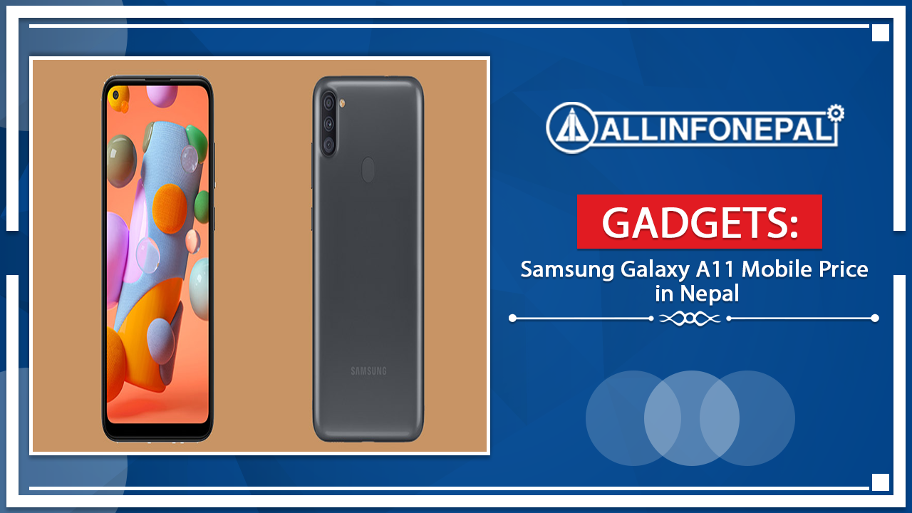 Samsung Galaxy A11 Mobile Price in Nepal