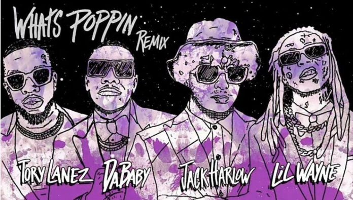 WHAT'S POPPIN Song Lyrics - Jack Harlow feat. DaBaby, Tory Lanez & Lil Wayne