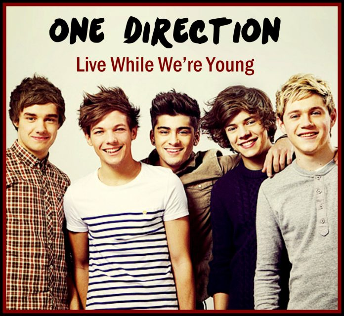 LIVE WHILE WE ARE YOUNG Lyrics