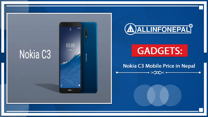 Nokia C3 Mobile Price in Nepal