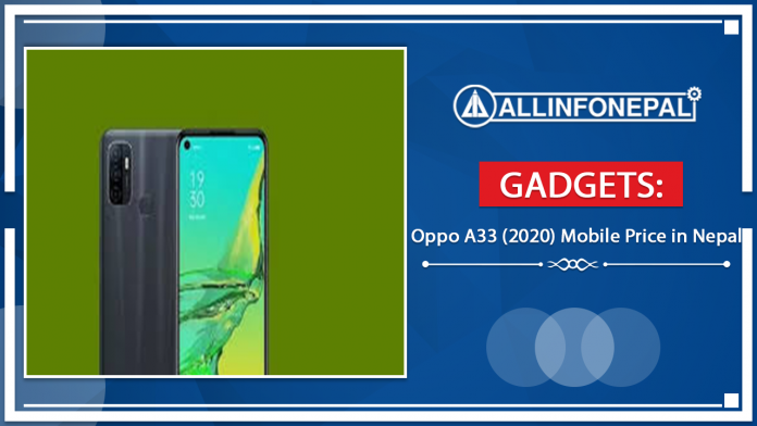 Oppo A33 (2020) Mobile Price in Nepal
