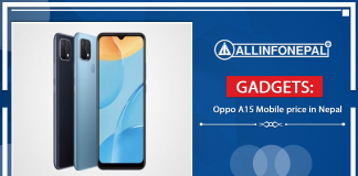 Oppo A15 Mobile price in Nepal