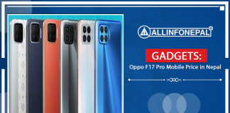 Oppo F17 Pro Mobile Price in Nepal