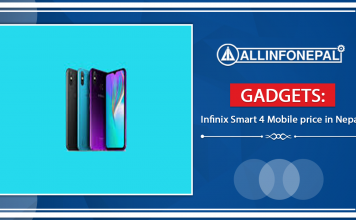 Infinix Smart 4 Mobile price in Nepal