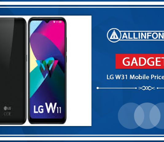 LG W31 Mobile Price in Nepal