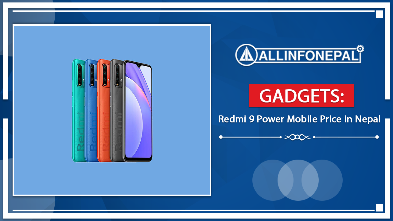 Redmi 9 Power Mobile Price in Nepal