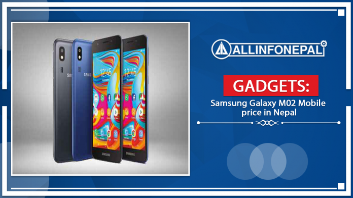 Samsung Galaxy M02 Mobile price in Nepal