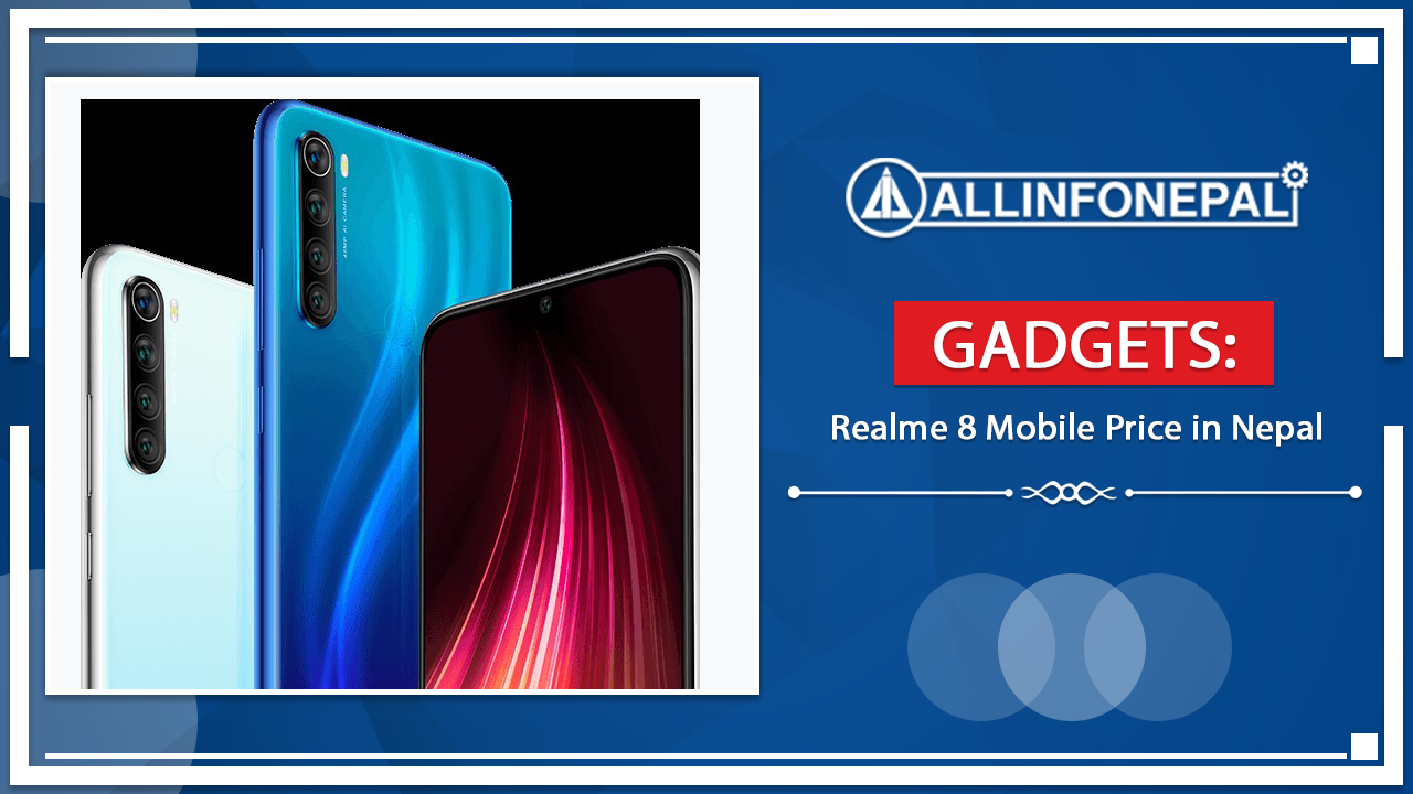 Realme 8 Mobile Price in Nepal