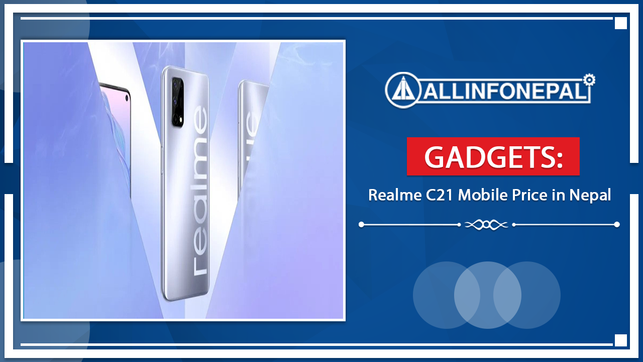 Realme C21 Mobile Price in Nepal