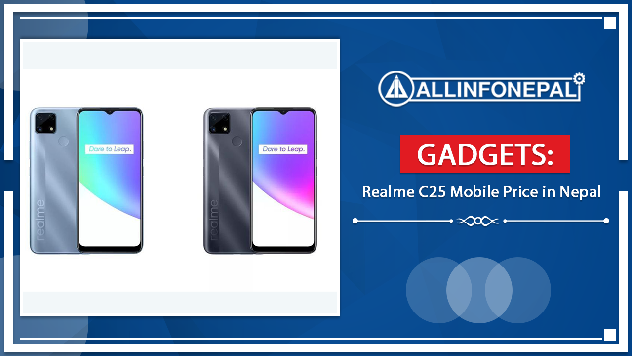 Realme C25 Mobile Price in Nepal