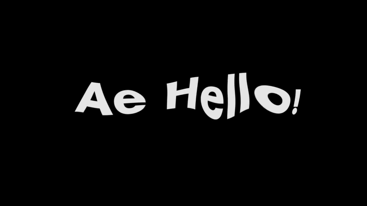 AE HELLO Lyrics