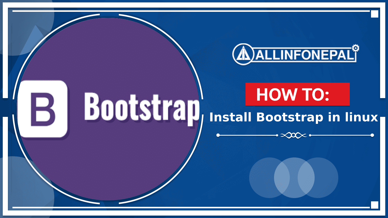 How to install the bootstrap 5 beta in Ubuntu (Linux) using terminal ?